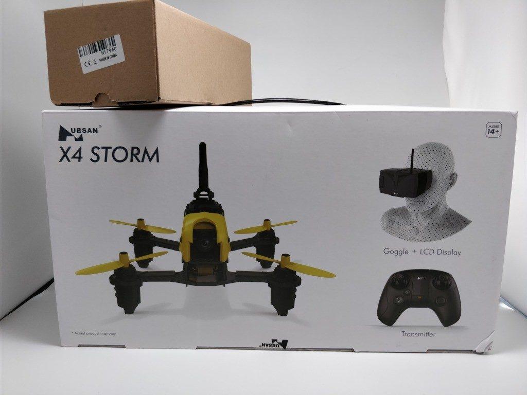 Hubsan h122d x4 Storm 化粧箱 表