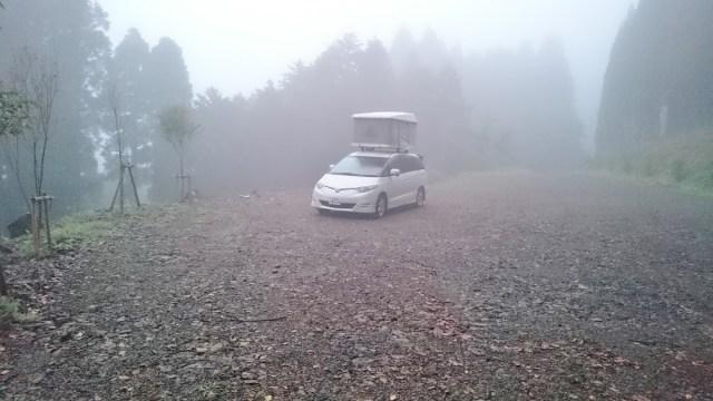 とある快適な場所でキャンプ
