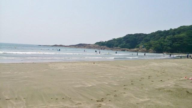 人も少なく海を楽しめる