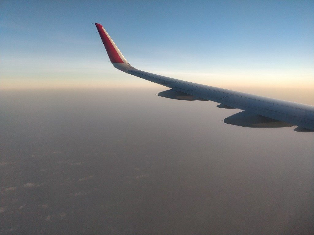 福岡国際空港 離陸