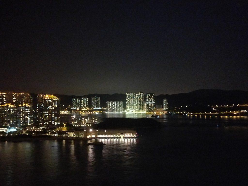 香港国際空港  高速バス 夜景2