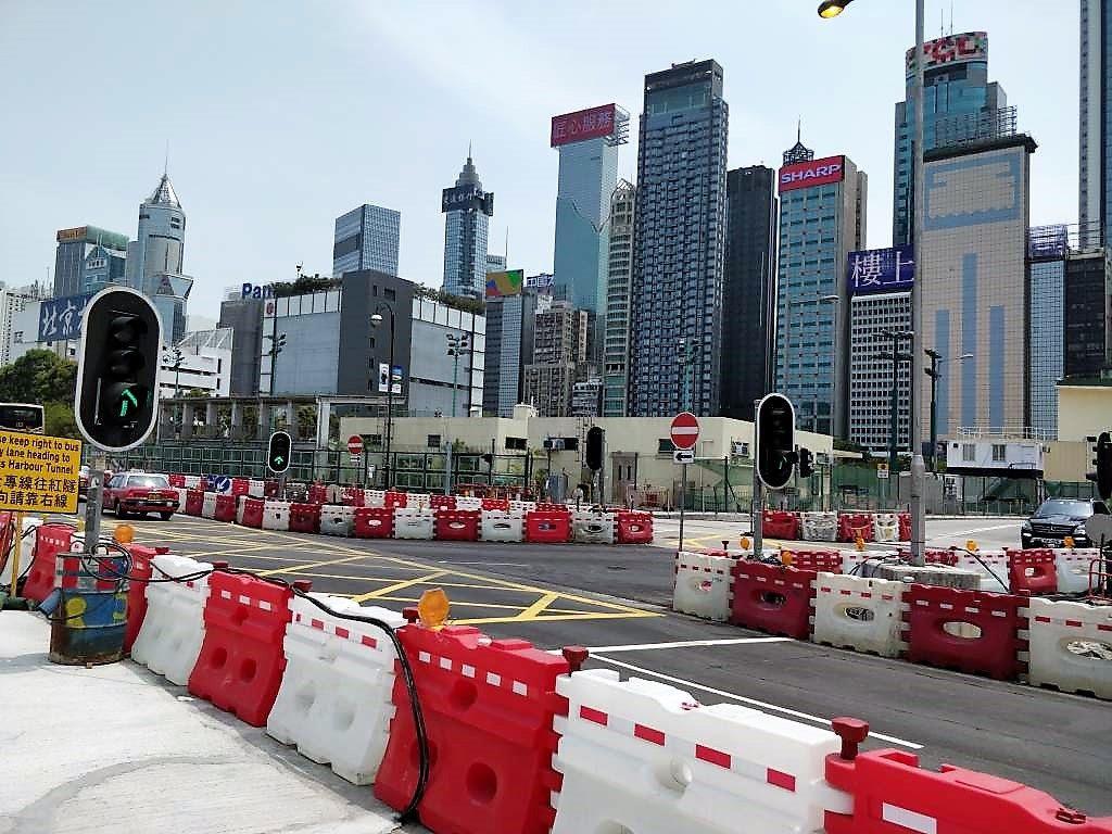 香港 香港島 工事中