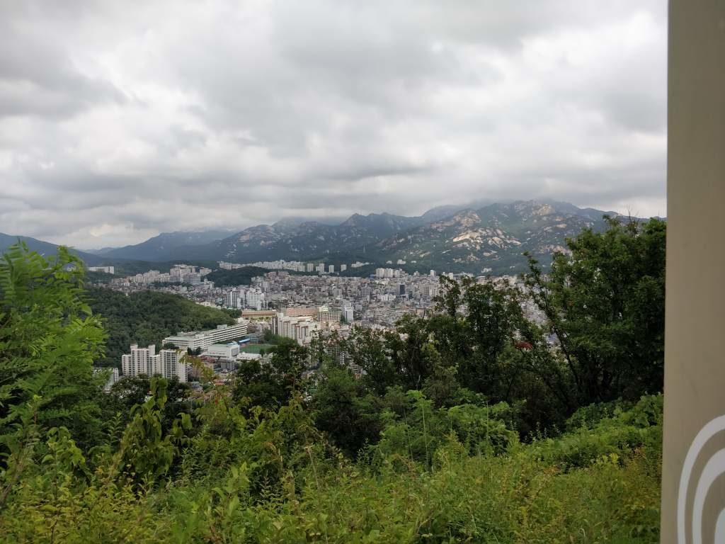 亀山 裏山 烽山 眺め2