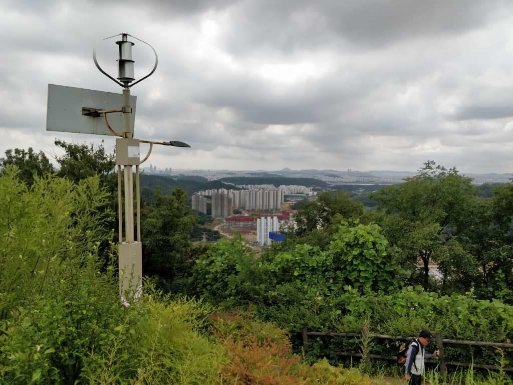 亀山 裏山 烽山 眺め3