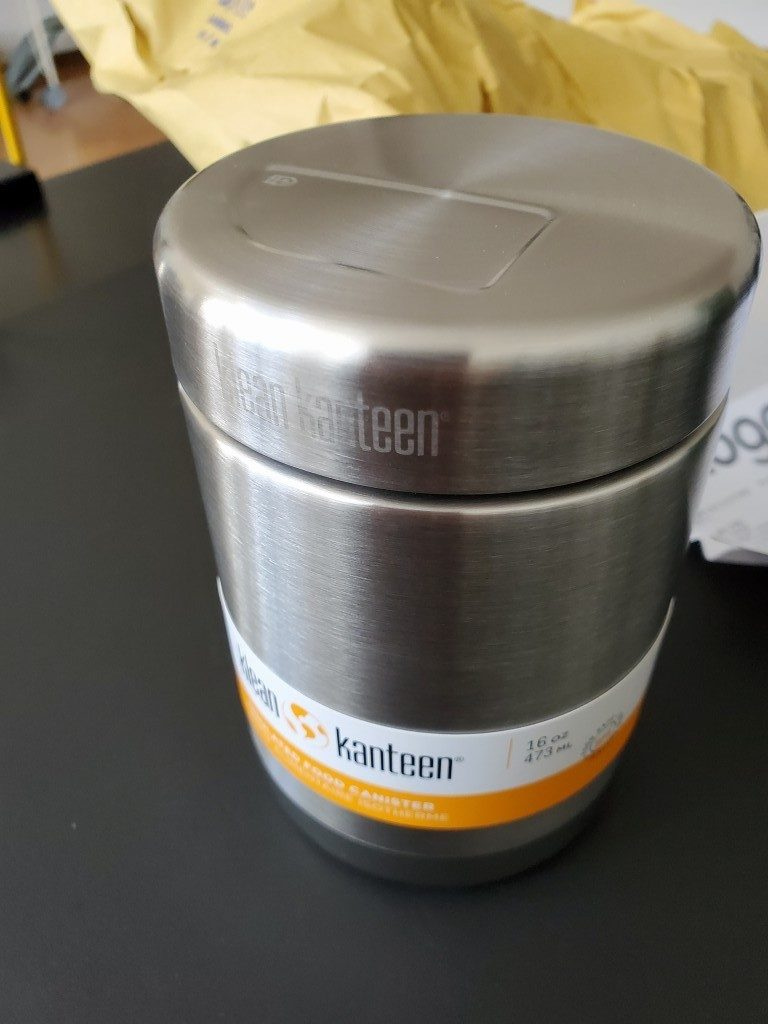 KLEAN KANTEEN VACUUM INSULATED STAINLESS STEEL FOOD CANISTER (473ML)